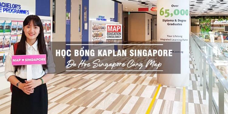 Du học Singapore cùng MAP - Học bổng Kaplan Singapore