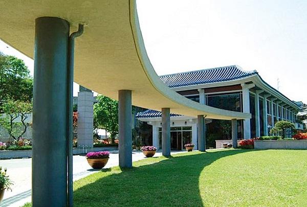 Một góc khuôn viên Seoul University of Foreign Studies