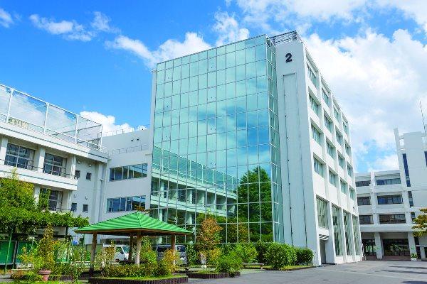 Một khu giảng đường tại Asia University of Japan