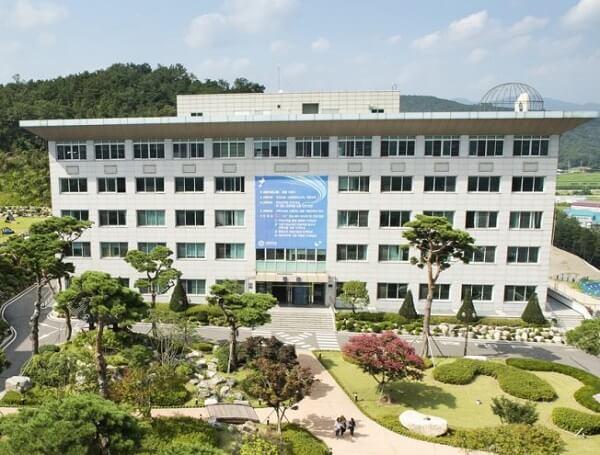 Học xá chính tại trường đại học Seojeong Hàn Quốc
