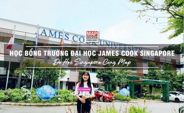 Các bạn sẽ có cơ hội nhận học bổng tại James Cook Singapore