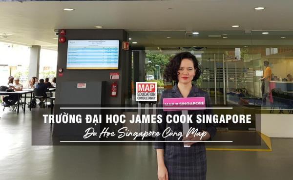 Đại học James Cook Singapore là trường đại học tâm lý học Singapore uy tín