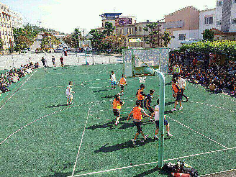 Sân thể thao Mokpo Science University