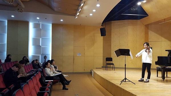 Sinh viên Sungsan Hyo University thi chuyên ngành
