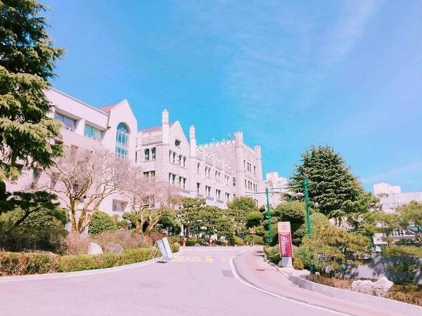 Một khung cảnh thơ mộng tại Dongduk Women's University