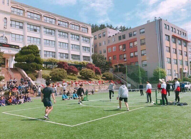 Hoạt động thể dục thể thao tại Đại học Kỹ thuật Mokpo