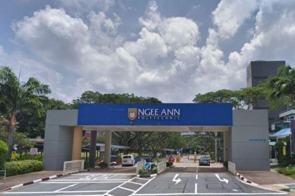 Cơ sở chính của trường cao đẳng Bách khoa Ngee Ann Singapore trên đường Clementi