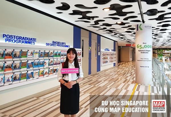 Sinh viên có thể tham gia nhận học bổng đại học Singapore ngành logistics tại Kaplan