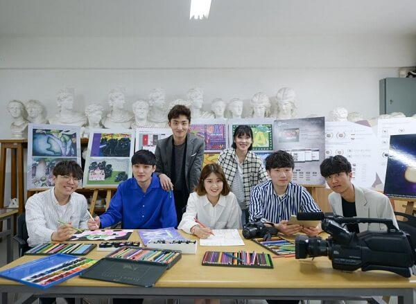 Hình ảnh rạng rỡ của sinh viên chuyên ngành Thiết Kế Quảng Cáo Trường Cao Đẳng Dongju.