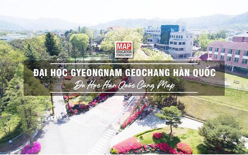 Cùng Du học Map khám phá trường Đại học Gyeongnam Geochang Hàn Quốc