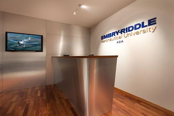 Embry-Riddle Aeronautical University Asia đào tạo từ năm 2011