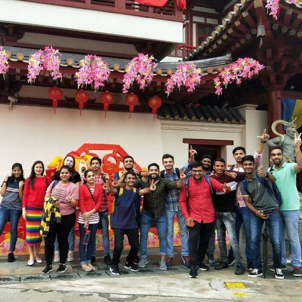 Một chuyến ngoại khóa của sinh viên quốc tế