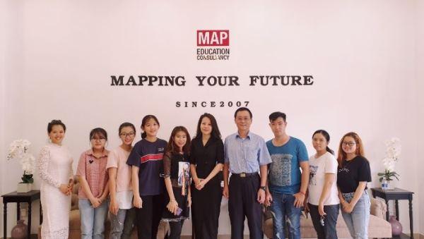 Sinh viên tại MAP luôn được hỗ trợ khi đăng ký du học Hàn Quốc hay Đài Loan