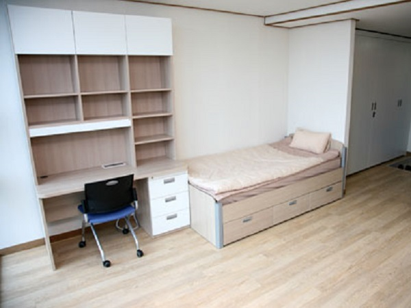 Phòng kí túc xá của Jangan University