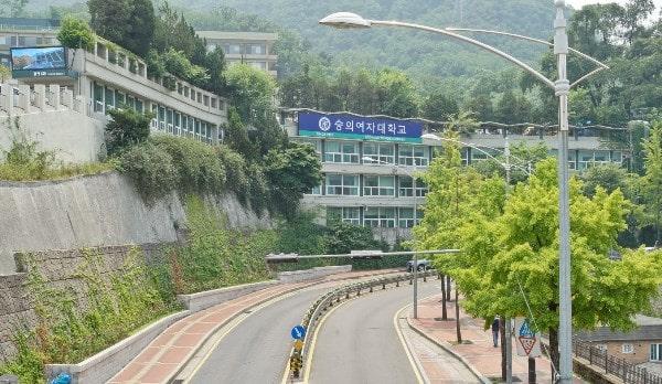 Cơ sở chính của cao đẳng Nữ Soongeui