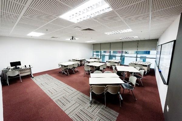 Cơ sở vật chất tại cao đẳng Quốc tế Châu Á