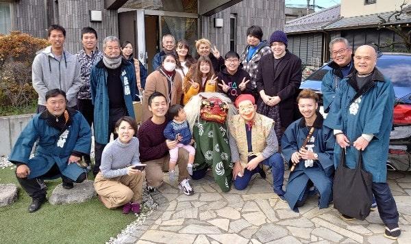 Đón Tết tại khu ký túc xá đại học Seijo