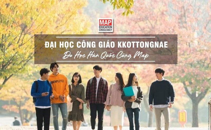 Du học Hàn Quốc cùng MAP - Trường đại học Công giáo Kkottongnae Hàn Quốc