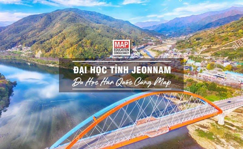 Du học Hàn Quốc cùng MAP - Trường đại học Tỉnh Jeonnam Hàn Quốc