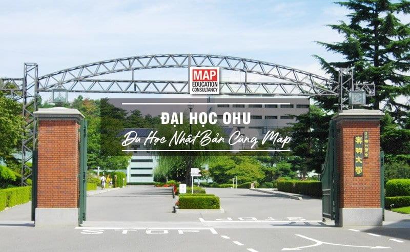 Du học Nhật Bản cùng MAP - Trường đại học Ohu Nhật Bản