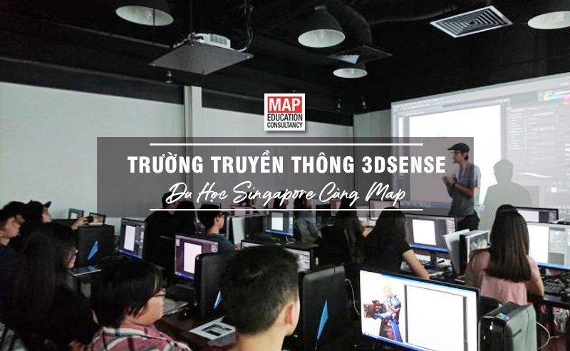 Du học Singapore cùng MAP - Trường Truyền thông 3dsense Singapore