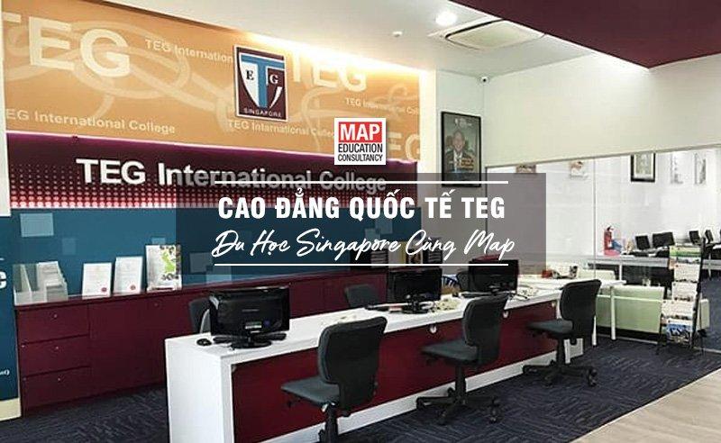 Du học Singapore cùng MAP - Trường cao đẳng Quốc tế TEG Singapore