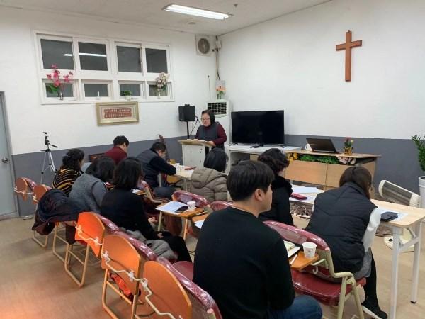 Hoạt động ngoại khóa của sinh viên cao học Thần học Kinh thánh Seoul