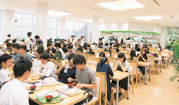 Môi trường quốc tế và năng động tại đại học Shujitsu