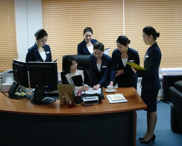 Một lớp đào tạo Thư ký quốc tế