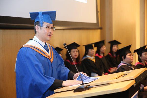 Sinh viên tham gia lễ tốt nghiệp