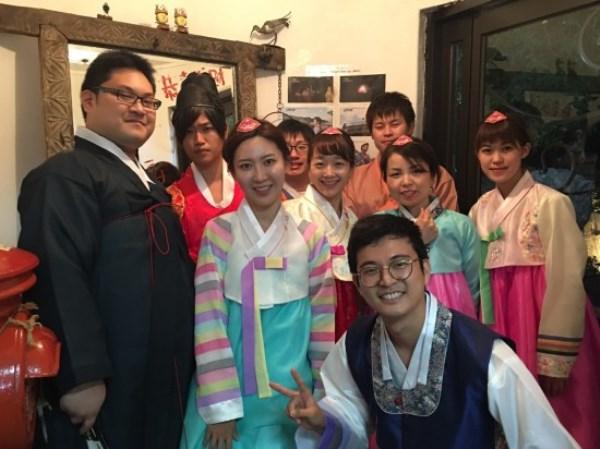 Sinh viên đại học Ohu giao lưu với đại học Kyung Hee