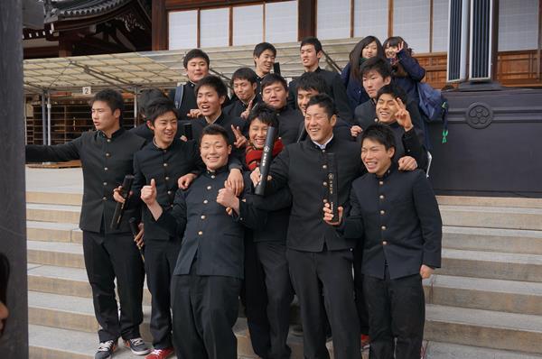 Sinh viên trường tham gia lễ tốt nghiệp
