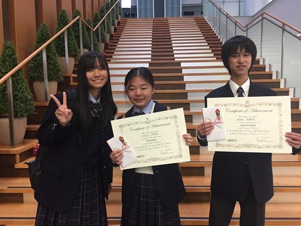 Sinh viên trường thắng giải cuộc thi Speech Contest