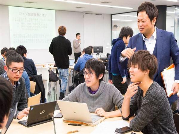 Sinh viên đại học Taisho trong một giờ học