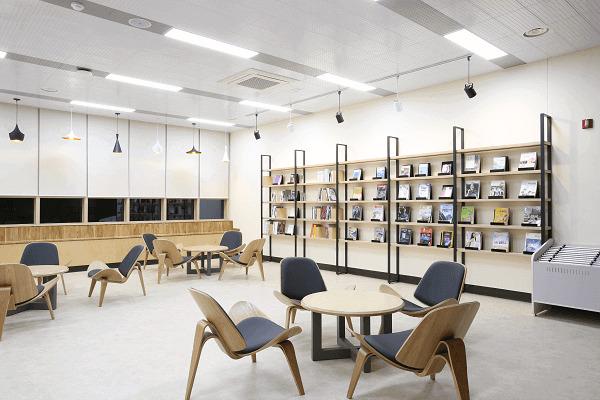 Thư viện tại Chinju National University of Education