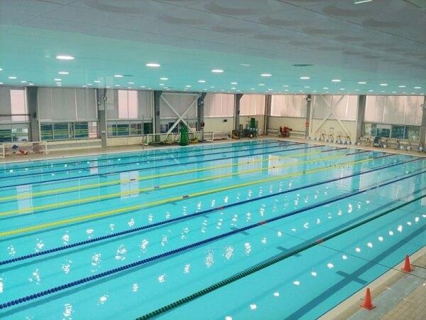 Bể bơi trong nhà Đại học Thể thao Quốc gia Hàn Quốc