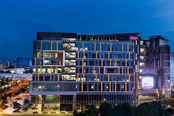 Cơ sở chính trong tòa nhà Bukit Merah Town Centre