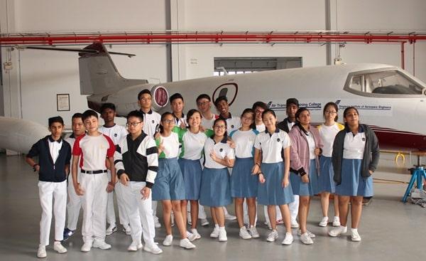Cùng tham khảo thông tin chi tiết về cao đẳng Đào tạo Vận tải Hàng không Singapore nhé!