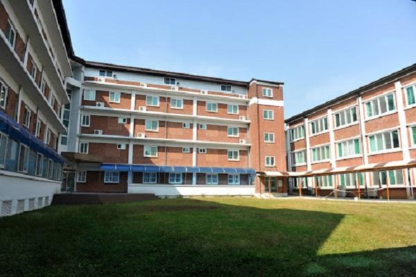 Giảng đường đại học công giáo Gwangju Hàn Quốc
