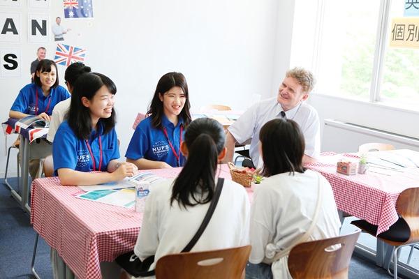 Học sinh trung học tham gia ngày hội tham quan tại đại học Ngoại ngữ Nagoya