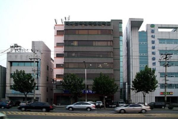 Khung cảnh bên ngoài trường cao học thần học Kukje Hàn Quốc
