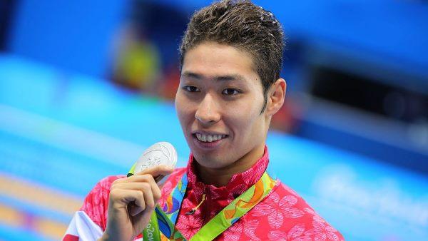 Kosuke Hagino - Vận động viên bơi lội người Nhật Bản, từng bốn lần giành huy chương Olympic