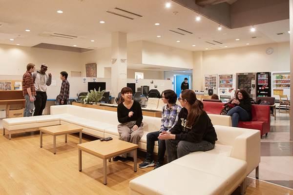 Ký túc xá Komachi tại đại học Quốc tế Akita