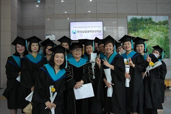 Lễ tốt nghiệp của sinh viên Korea Counseling Graduate University