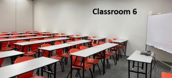 Một phòng học tại trường