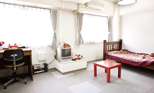 Một phòng tại ký túc xá Andozaka thuộc đại học Toyo Gakuen