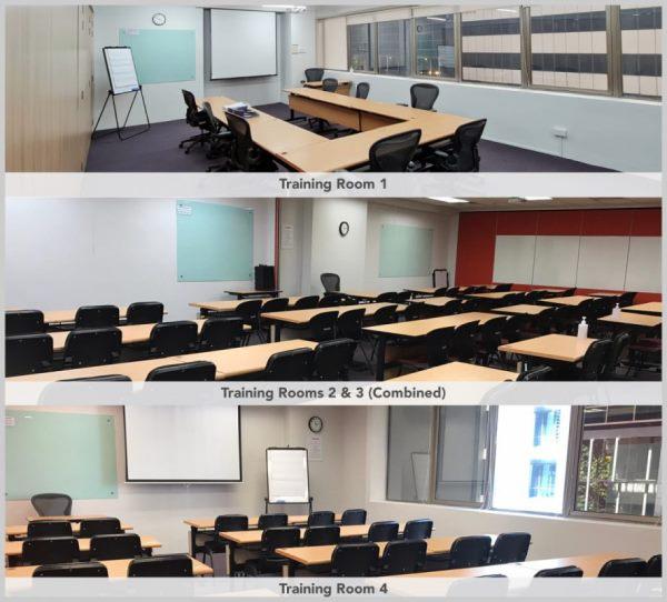 Phòng học và phòng họp tại học viện