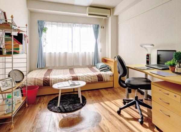 Sinh viên đại học Otemon Gakuin có thể liên hệ nhà trường để tìm ký túc xá