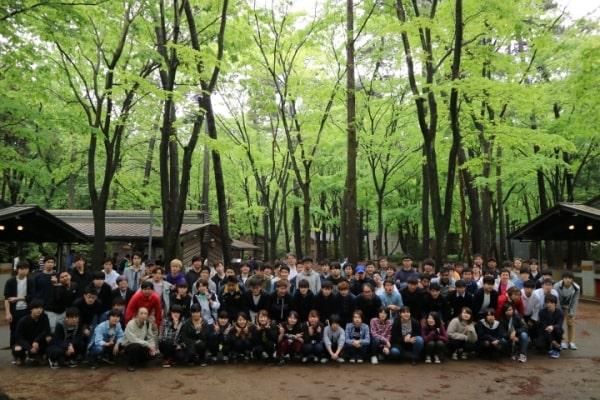 Sinh viên trường tham gia ngoại khóa tại công viên Shimizu