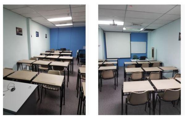 Các lớp học tại trường